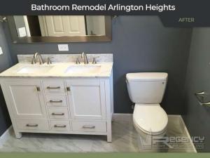 Bathroom Remodel - 722 S Dunton Ave, Arlington Heights, IL 60005 by Regency Home Remodeling