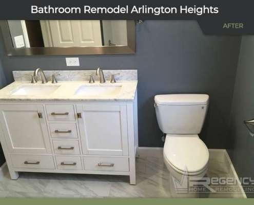 Bathroom Remodel - 722 S Dunton Ave, Arlington Heights, IL 60005 by Regency Home Remodeling