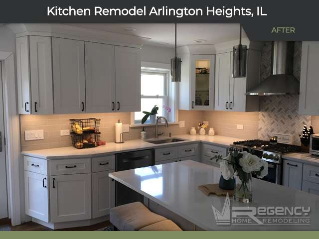 Kitchen Remodel - Arlington Heights, IL 60004 by Regency Home Remodeling