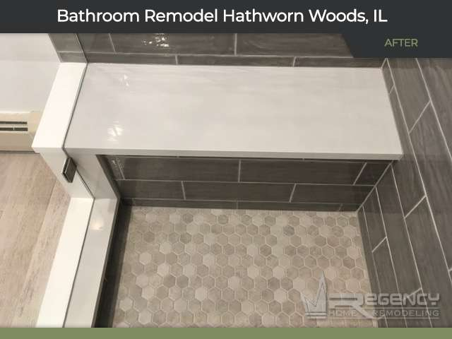 Master Bathroom Remodel - 17 Falkirk Rd, Hawthorn Woods, IL 60047 by Regency Home Remodeling