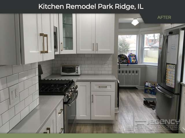 Kitchen Remodel - 607 S Greenwood Ave, Park Ridge, IL 60068 by Regency Home Remodeling