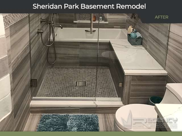 Basement Remodel - 4413 N Magnolia Ave Chicago, IL 60640 by Regency Home Remodeling