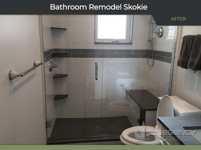 Bathroom Remodel - 8301 N Lowell Ave, Skokie, IL 60076 by Regency Home Remodeling