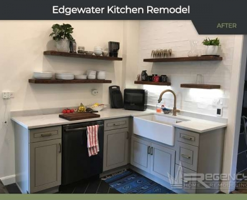 Kitchen Remodel - 5809 N Winthrop Ave Chicago, IL 60660 by Regency Home Remodeling
