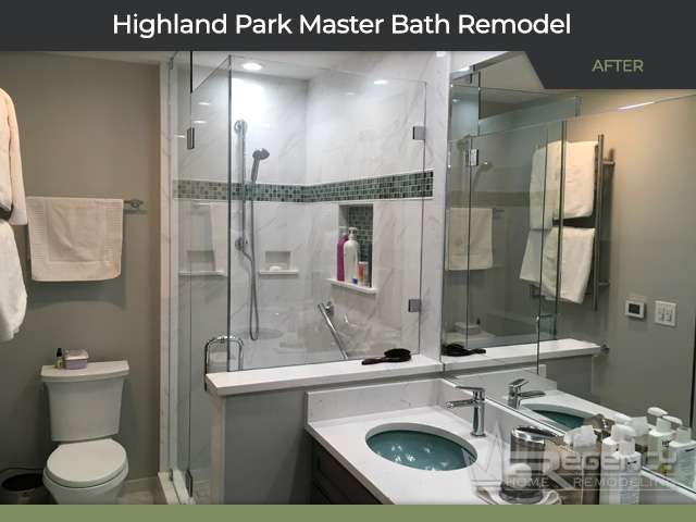 Bathroom Remodel - 343 Hastings Ave, Highland Park, IL 60035 by Regency Home Remodeling