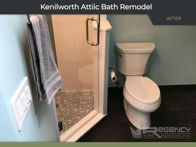 Bathroom Remodel - 610 Roger Ave, Kenilworth, IL 60043 by Regency Home Remodeling