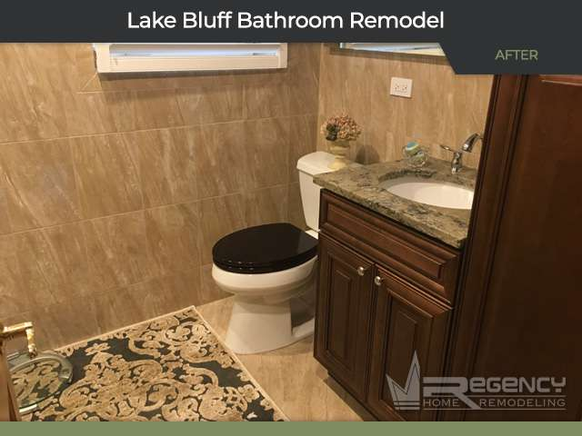 Bathroom Remodel - 404 Green Ave, Lake Bluff, IL 60044 by Regency Home Remodeling