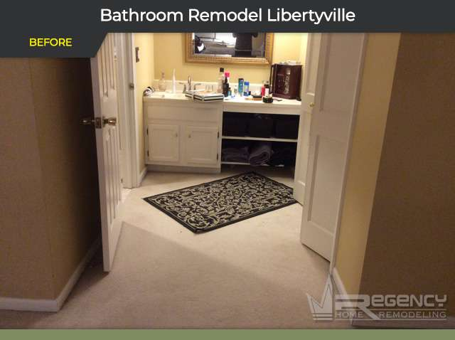Bathroom Remodel - 1324 Oxford Ct, Libertyville, IL 60048 by Regency Home Remodeling