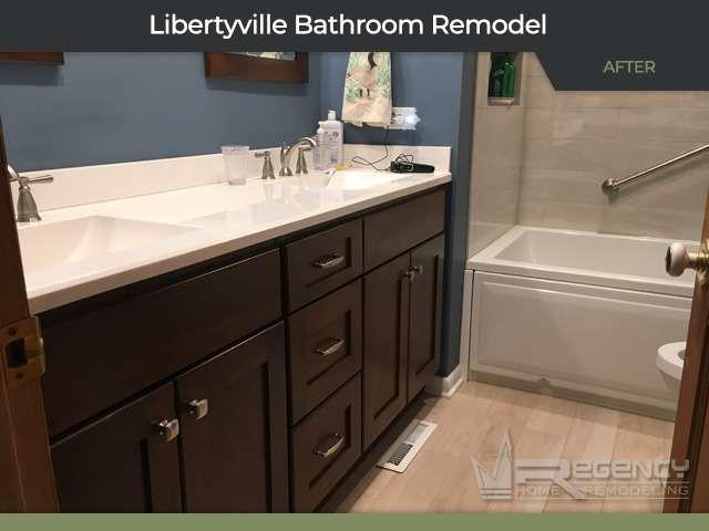 Bathroom Remodel - 615 Burdick St, Libertyville IL 60048 by Regency Home Remodeling