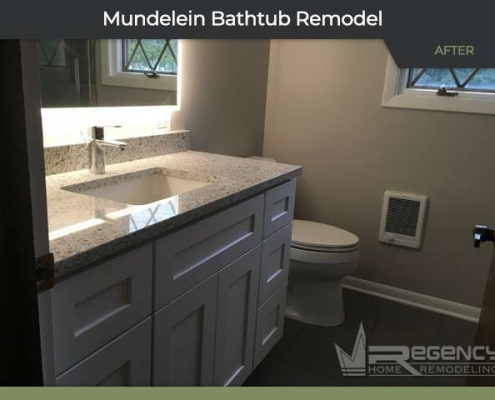 Bathtub Remodel - 26400 N Pheasant Run, Mundelein, IL 60060 by Regency Home Remodeling.