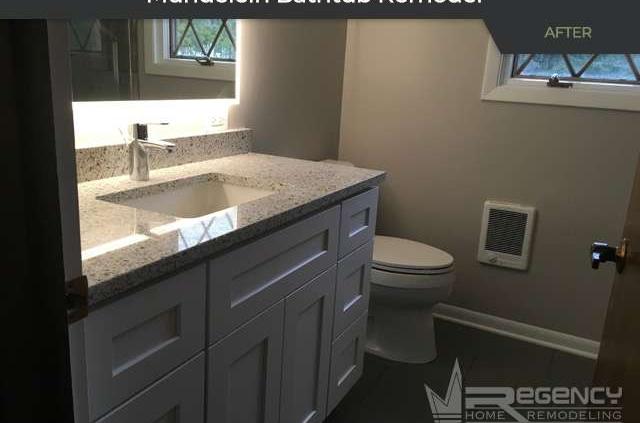 Bathtub Remodel - 26400 N Pheasant Run, Mundelein, IL 60060 by Regency Home Remodeling.