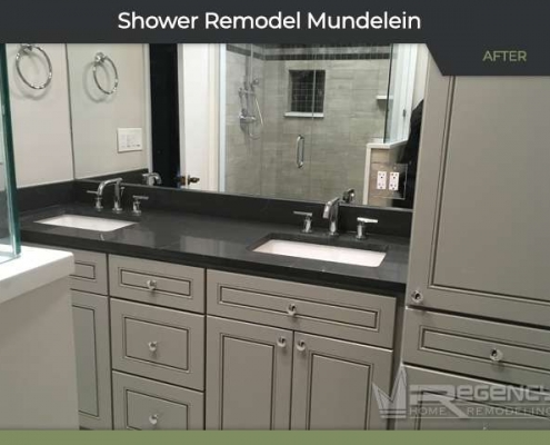 Shower Remodel - 26400 N Pheasant Run, Mundelein, IL 60060 by Regency Home Remodeling.