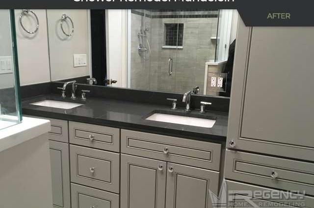 Shower Remodel - 26400 N Pheasant Run, Mundelein, IL 60060 by Regency Home Remodeling.
