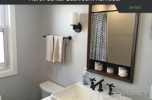 Bathroom Remodel - 4222 N Claremont Ave, Chicago, IL 60618 by Regency Home Remodeling