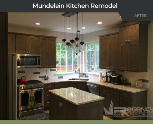 Kitchen Remodel - 931 Concord Cir, Mundelein, IL 60060 by Regency Home Remodeling