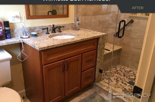 Bath Remodel - Wilmette, IL 60091 by Regency Home Remodeling