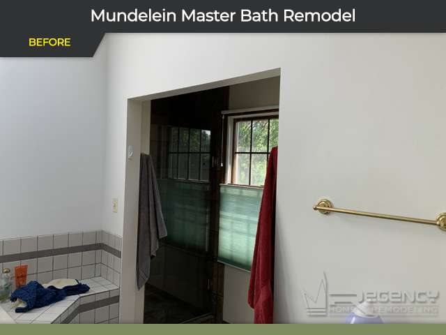 Master Bath Remodel - 21384 W Lakeview Pkwy, Mundelein, IL 60060 by Regency Home Remodeling